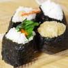 蒲田屋 - 料理写真:山ごぼう紫蘇、えび(塩)、鮭、茶めし