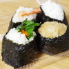 Kamataya - 料理写真:山ごぼう紫蘇、えび(塩)、鮭、茶めし