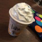 スターバックスコーヒー - カンタロープメロン&クリームフラペチーノ