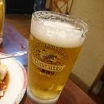 栄華楼 - ビール