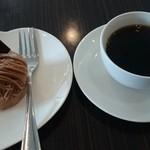 ゆりの木 - モンブラン&コーヒー