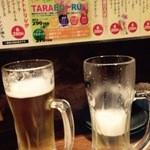 肝どん 難波店 - 100円ビール♡