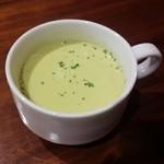 49910064 - グリンピースのミニカップスープ/平成28年4月