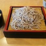 笠そば処 - ざる大とかやくご飯