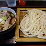藤店うどん - (2016/2月)「肉汁うどん」並