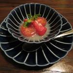 東京チャイニーズ 一凛 - フルーツトマトと苺のライチ漬け1