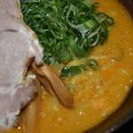 麺屋 蔵人 - 味噌ツユアップ