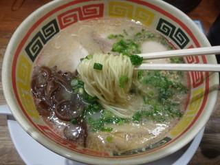 九州じゃんがら 日本橋店 - 細麺ストレート