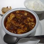 49916341 - 麻婆豆腐ご飯