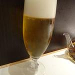 四川飯店 - 生ビール:550円