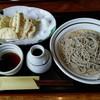 ひで  - 料理写真:天ざるそば1200円。