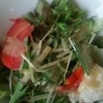 ナポリの食卓 パスタとピッツァ - サラダ