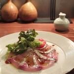 酢重ダイニング 六角 - 本日の鮮魚のカルパッチョ