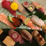 49920469 - むさし・寿司定食¥1,500