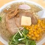 うれっ子 - 塩バターラーメン(800円)