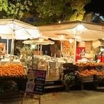 Caff'e Ponte ITALIANO - お店には山のようなオレンジが・・・