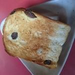 アトリエデリス - レーズンパンをトーストしてみた