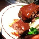 蔓牛焼肉 太田家 - 料理写真:但馬牛ブランド太田牛ハンバーグランチ850円