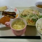 学園レストラン アルカンシェル - 料理写真:「日替わりセット」500円