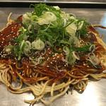 広島風お好み焼き ひなちゃん - 肉そば