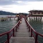 望湖楼 - 旅館から露天風呂へ繋がる橋