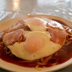スパゲティハウス ポッケ - 料理写真:ベーコンエッグ