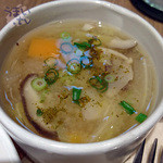 横町カフェ - 「黒カレー(信州牛ゴロゴロ) 信州味噌スープ(ミニ)付き」 1,480円