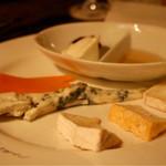 シャンタ ムール - チーズ盛り合わせ
