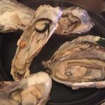 ウノスケ - 蒸牡蠣(フルオープン)