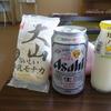 湯~とぴあ黄金泉 めん処 - ドリンク写真:大山モナカ240円 缶ビール300円 大山バナナミルク160円