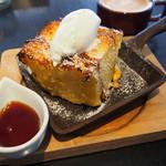 Good Morning Cafe&Grill - あつあつパンプディング