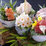 和の食彩 吉楽庵 - 夏のおまかせ造り(特別)