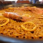 スペイン料理&ワイン パエリア専門店 ミゲルフアニ - 魚介のパエリア