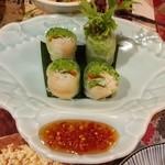 ゴダワリアジアンレストラン&バー - 生春巻。これもアジアンです。