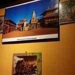 ゴダワリアジアンレストラン&バー - 壁にはインド・ネパールの雰囲気も