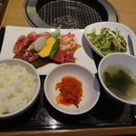 焼肉トラジ - トラジ御膳2200円