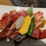 焼肉トラジ - トラジ御膳の肉