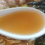 好味苑 - 好味苑 @本蓮沼 日替わりランチセット 鶏肉麺 「博多のあん」様 リスペクト画像 懐かしの中華そば味スープ