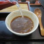 そば~る ひだまり - 蕎麦湯イン