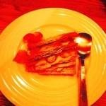 肉ビストロ センバキッチン - デザートのミルフィーユ