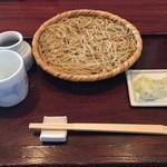 達磨 - 料理写真:「ざるそば」864円
