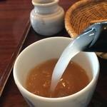 達磨 - そば湯