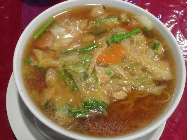 桜華楼 - 広東麺(大盛)