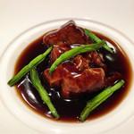 漢城 - 黒酢酢豚