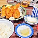 やまだや - ミックス・フライ定食  2016/04/15