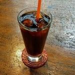 ダモ コーヒー ハウス - アイスコーヒー(深煎り)