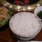 炭火焼肉 秋 - ごはんセット