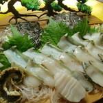 和の食彩 吉楽庵 - 妊娠3か月目にお祝い!アワビ盛り