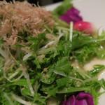 串揚げ料理 みや田 - 野菜サラダ