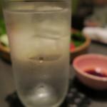 串揚げ料理 みや田 - 芋焼酎もいただきました